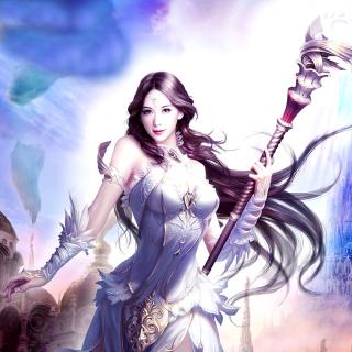Angelina, League of Angels - Obrázkek zdarma pro iPad Air