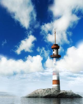 Lighthouse on West Coast - Obrázkek zdarma pro 360x400
