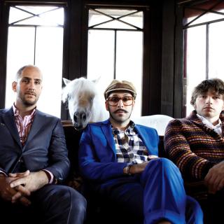 OK Go American alternative Rock Band - Obrázkek zdarma pro 208x208