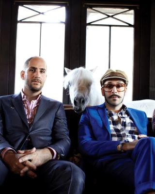 OK Go American alternative Rock Band - Obrázkek zdarma pro Nokia Lumia 920T