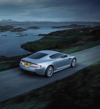 Aston Martin Dbs Evening Ride - Obrázkek zdarma pro iPad