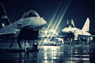 Free Eurofighter Typhoon Picture for Android, iPhone and iPad