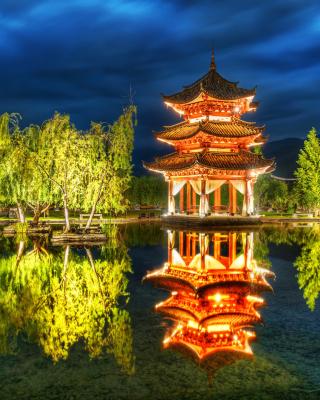 Chinese Pagoda HD - Obrázkek zdarma pro 768x1280