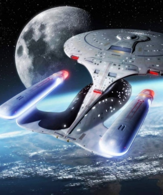 Star Trek Enterprise - Obrázkek zdarma pro Nokia X1-01