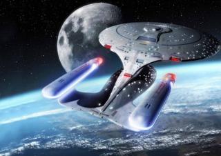 Star Trek Enterprise - Obrázkek zdarma pro LG P700 Optimus L7