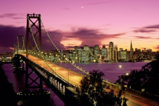 Bay Bridge - San Francisco California Picture for Android, iPhone and iPad