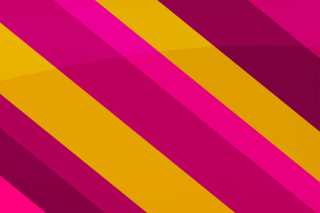 Pink Yellow Stripes Picture for Android, iPhone and iPad