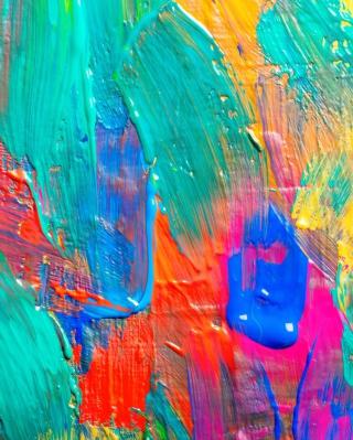 Acrylic Paint - Obrázkek zdarma pro 360x640