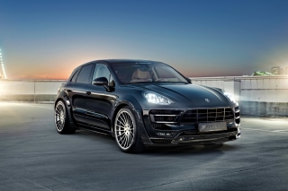 Porsche Macan S Hamann Background for Android, iPhone and iPad