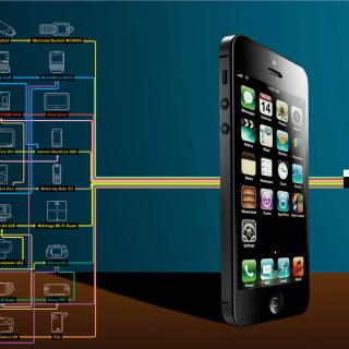 IPhone 5 - Obrázkek zdarma pro iPad 2