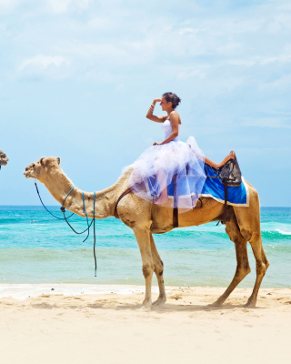 Two Camels - Obrázkek zdarma pro 360x480