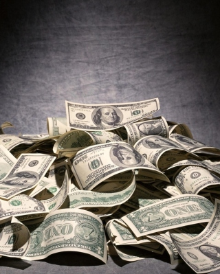 United States Dollar - USD - Obrázkek zdarma pro 240x400