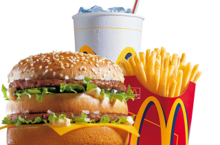 McDonalds: Big Mac Background for Android, iPhone and iPad