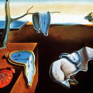 Salvador Dali The Persistence of Memory, Surrealism - Obrázkek zdarma pro 320x320