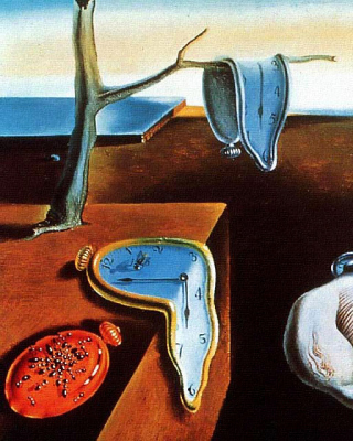 Salvador Dali The Persistence of Memory, Surrealism - Obrázkek zdarma pro iPhone 6 Plus