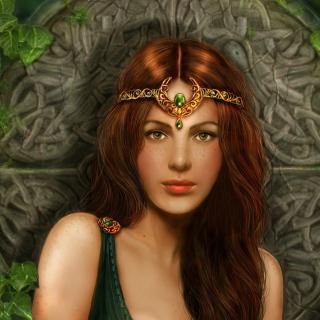 Celtic Princess - Obrázkek zdarma pro iPad Air