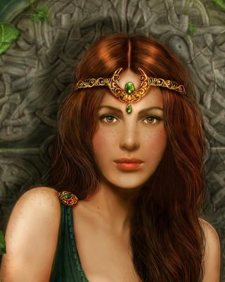 Celtic Princess - Obrázkek zdarma pro Nokia Asha 310