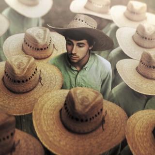 Mexican Hats - Obrázkek zdarma pro iPad Air
