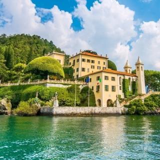 Lake Como in Italy Must Visit - Obrázkek zdarma pro iPad