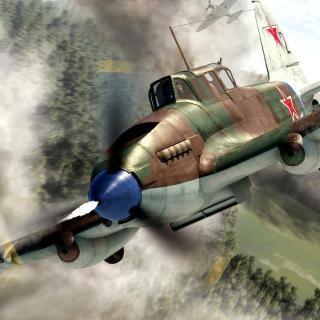 Il 2 Shturmovik Ground Attack Aircraft - Obrázkek zdarma pro 208x208
