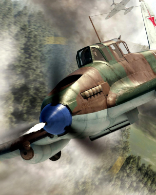 Il 2 Shturmovik Ground Attack Aircraft - Obrázkek zdarma pro Nokia Lumia 900