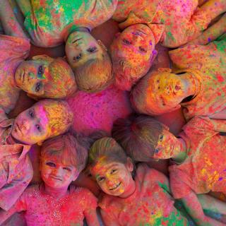 Kids Having Fun - Obrázkek zdarma pro 2048x2048