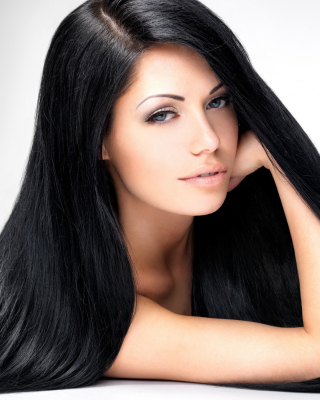 Brunette Portrait Background for 480x854