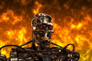Cyborg Terminator - Obrázkek zdarma pro 1024x768