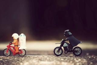 Lego Riders - Obrázkek zdarma pro Fullscreen 1152x864