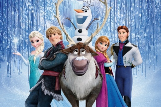 2013 Frozen Background for Android, iPhone and iPad