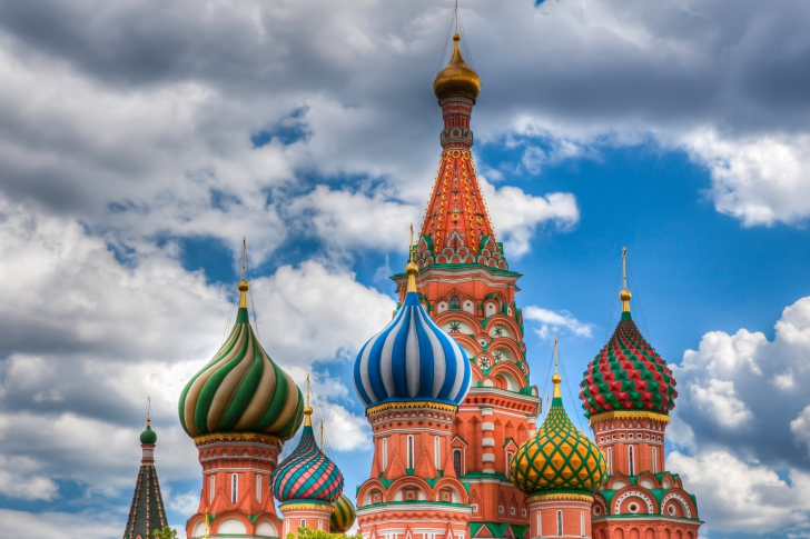 Saint Basil's Cathedral - Red Square wallpaper