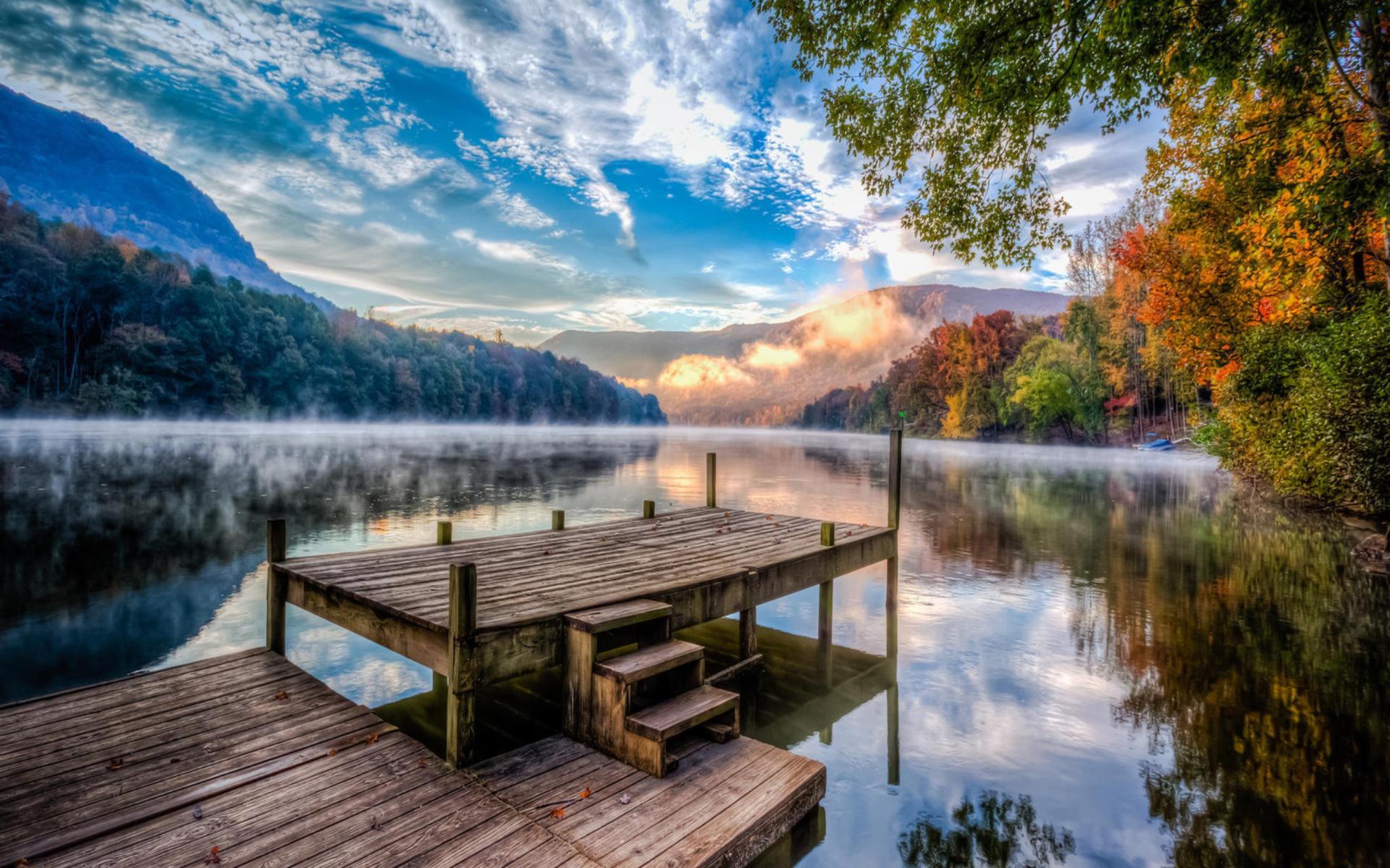 Stunning Nature Hd Wallpaper: Beautiful Stunning Landscape Wallpaper For Widescreen
