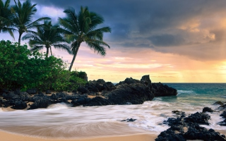 Hawaii Beach Picture for Android, iPhone and iPad