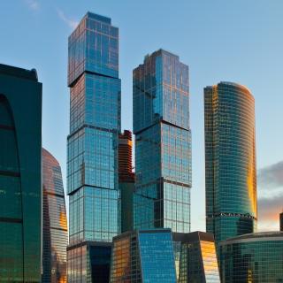 Moscow City - Obrázkek zdarma pro 128x128