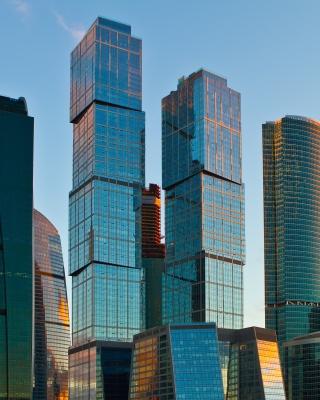 Moscow City - Obrázkek zdarma pro iPhone 5