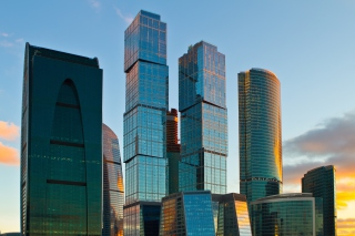 Moscow City Background for Android, iPhone and iPad