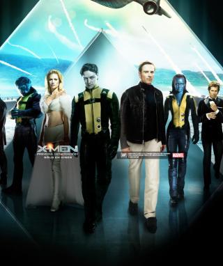 X-Men Poster - Obrázkek zdarma pro 352x416