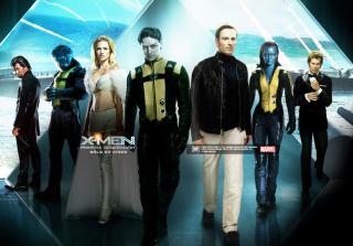 X-Men Poster - Obrázkek zdarma pro Nokia Asha 200