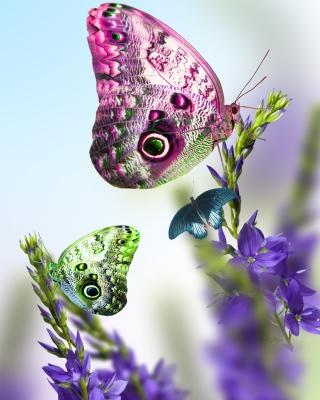 Tender Butterfly HD - Obrázkek zdarma pro Nokia X2
