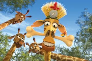 Madagascar Escape 2 Africa - Obrázkek zdarma pro Samsung Galaxy Note 2 N7100