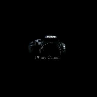 I Love My Canon - Obrázkek zdarma pro iPad 3