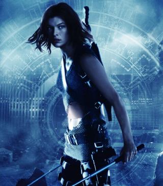 Resident Evil, Milla Jovovich - Obrázkek zdarma pro 128x160