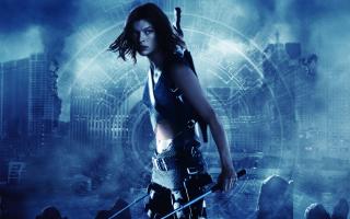 Resident Evil, Milla Jovovich - Obrázkek zdarma pro LG P970 Optimus