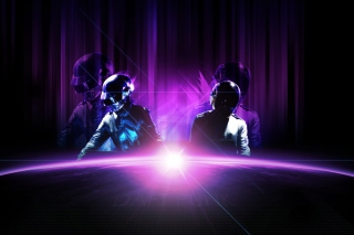 The Radiance of Daft Punk Background for Android, iPhone and iPad