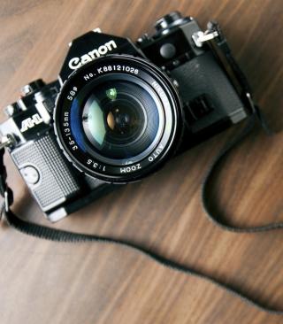 Vintage Canon - Obrázkek zdarma pro Nokia Asha 306