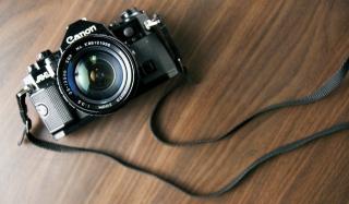 Vintage Canon - Obrázkek zdarma pro Google Nexus 5