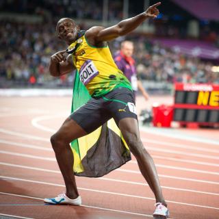 Usain Bolt won medals in the Olympics - Obrázkek zdarma pro 320x320