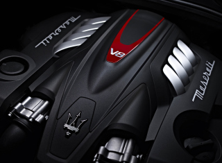 Free Maserati Engine V8 Picture for Android, iPhone and iPad