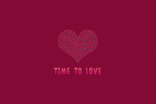 Time to Love Wallpaper for Nokia Asha 200