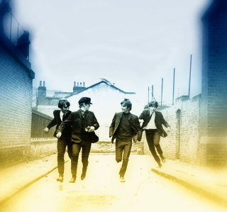 The Beatles - Obrázkek zdarma pro iPad Air